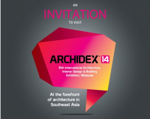 ARCHIDEX 2014 : e-Invitation Card
